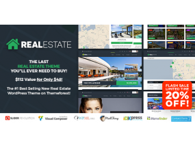 Pro Real Estate 7 Недвижимость WordPress Theme WordPress