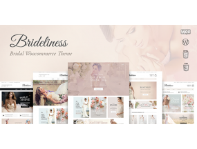 Brideliness - Свадебный магазин WordPress WooCommerce Theme