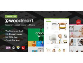 WoodMart - отзывчивая тема WordPress WooCommerce