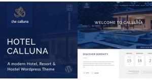 Hotel Calluna - тема WordPress
