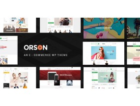 Orson - инновационная электронная тема WordPress для интернет-магазинов