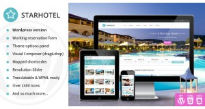Starhotel - Отель WordPress