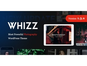 Whiz | WordPress для фотографии