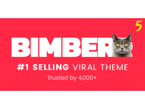 Bimber - Вирусный журнал WordPress Theme