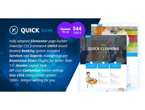 Quick-Cleaning Service WordPress