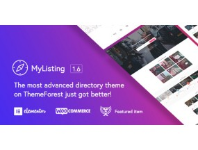 MyListing - Каталог и листинг WordPress Theme