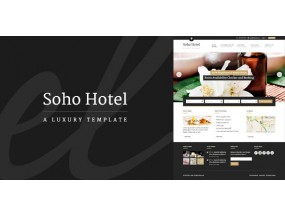 Soho Hotel  V2.0.1 - шаблон WordPress