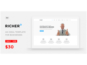 Richer v3.2.1 -  тема WordPress