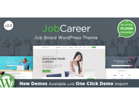 JobCareer 2.1 - тема WordPress