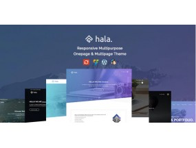 Hala - креативная многоцелевая тема WordPress - Creative Multi-Purpose WordPress Theme