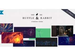 Кролик - эксклюзивная тема WordPress Rabbit - Exclusive Coming Soon WordPress Theme