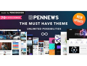 PENNEWS V6.0 - шаблон WordPress