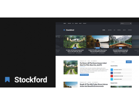 The Stockford - тема WordPress