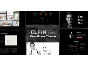 SELFINTRO V1.0.3 тема для резюме и портфолио WordPress