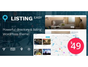 LISTINGEASY V1.2.9 - тема WordPress