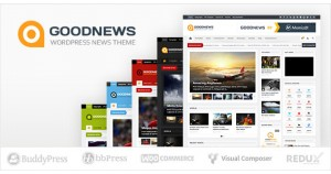 Goodnews - тема WordPress